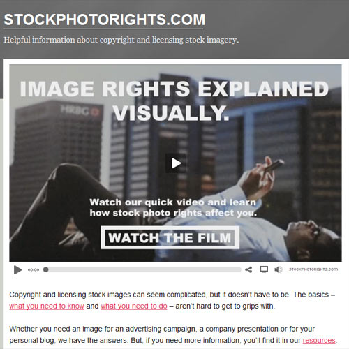 Stock Image Rights